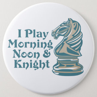 Chess Knight Pinback Button