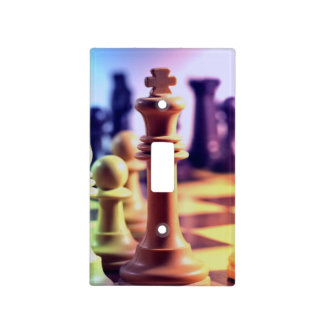 Chess Light Switch Cover
