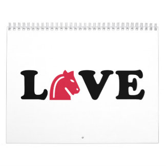 Chess love calendar