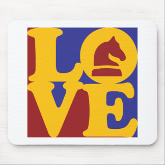 Chess Love Mouse Pad