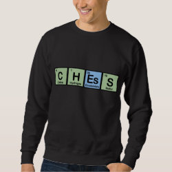Men's Basic Sweatshirt with Chess design