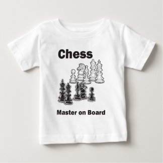 Chess Master On Board Baby T-Shirt