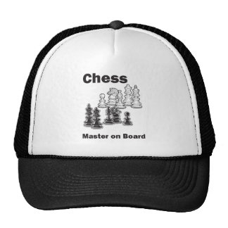 Chess Master On Board Trucker Hat