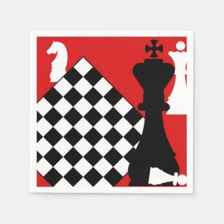 Chess Master Paper Napkin
