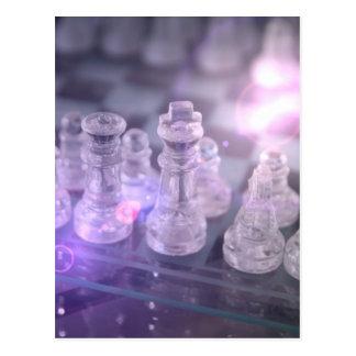 Chess Master Postcard