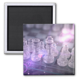 Chess Master Square Magnet Magnets