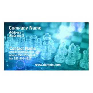 Chess Match Business Card