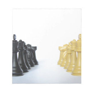 Chess Match Memo Note Pad