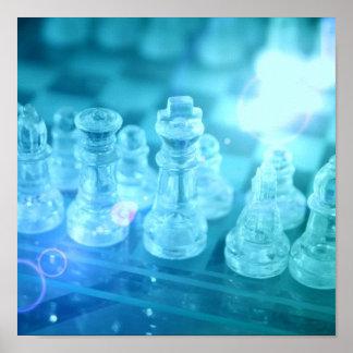 Chess Match Poster