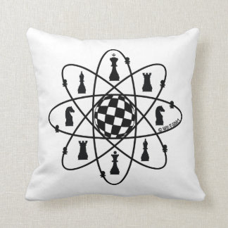 chess matter, chess atom pillow