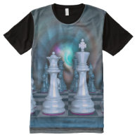 Chess Men's All-Over Printed Panel T-Shirt All-Over Print T-shirt