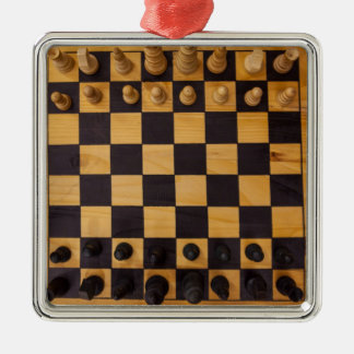 chess metal ornament