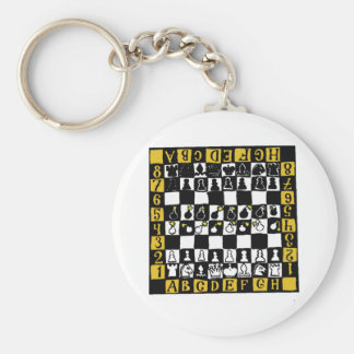 Chess Mine Field Keychain