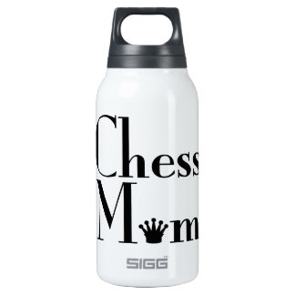 chess Mom Insulated Water Bottle