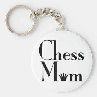 Chess Mom Keychain