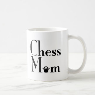 chess Mom Classic White Coffee Mug