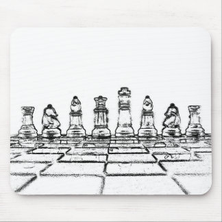 Chess Mouse Pad