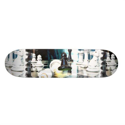 Chess Move  Skateboard