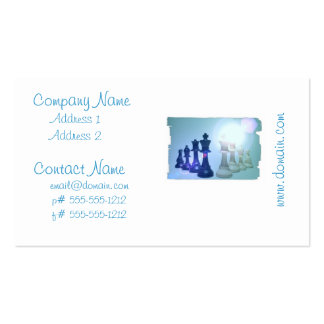 Chess Moves Business Cards