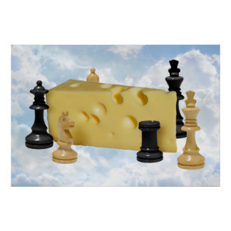 Chess N Cheese - Poster