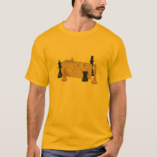 Chess N Cheese Solo - Basic Light T-Shirt