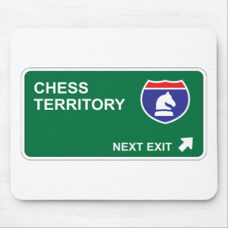 Chess Next Exit Mouse Pad