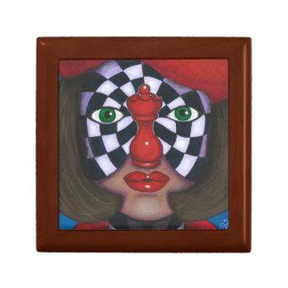 Chess-Nut Jewelry Box
