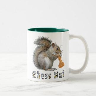 Chess Nut Two-Tone Coffee Mug