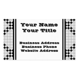 Chess Pad Business Cards
