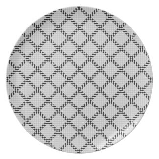 Chess Pad by Kenneth Yoncich Dinner Plate