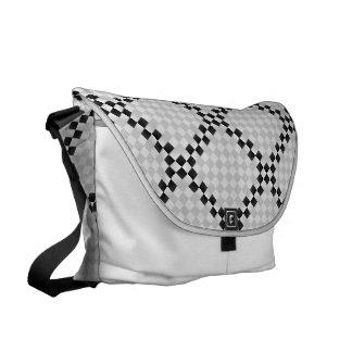 Chess Pad Messenger Bag