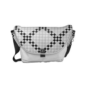 Chess Pad Small Messenger Bag