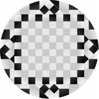 Chess Pad Statuette