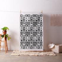 Chess Pattern Fabric