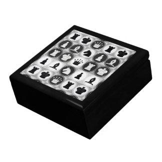 Chess Pattern Jewelry Box