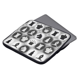 Chess Pattern Laptop Sleeves