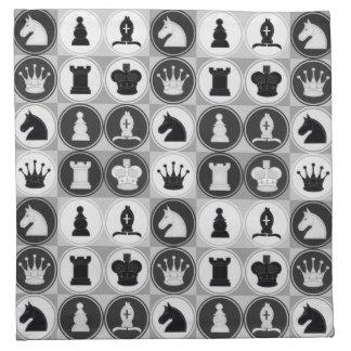 Chess Pattern Napkin