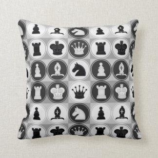 Chess Pattern Throw Pillow