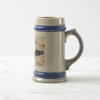 Chess Pawn and Knight - Veterans 18 Oz Beer Stein