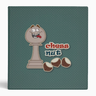 Chess Pawn, Chess Nuts and Chestnuts 3 Ring Binder