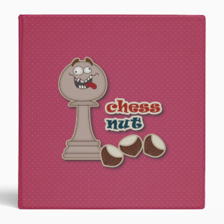 Chess Pawn, Chess Nuts and Chestnuts Binder