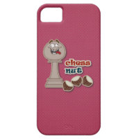 Chess Pawn, Chess Nuts and Chestnuts iPhone 5 Covers
