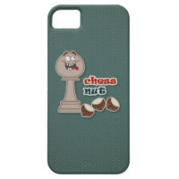 Chess Pawn, Chess Nuts and Chestnuts iPhone 5 Cases