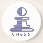 Chess Pawn Coasters
