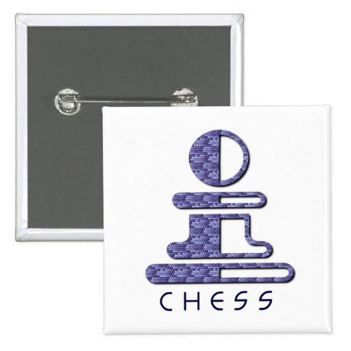 Chess Pawn Design Pin
