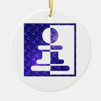 chess Pawn Reflections Ornament