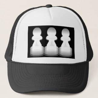 Chess pawns - hat