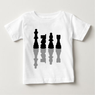 Chess peices reflection baby T-Shirt
