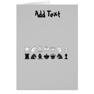 CHESS - personalized CHESS player Greeting Card