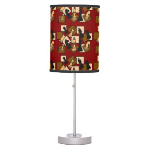 Chess Piece Abstract Art Lamp